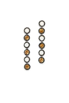 Copper Linear Earrings by Slate & Willow Accessories