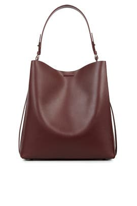 Burgundy Paradise Tote by AllSaints