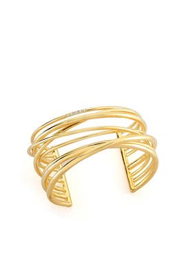 Gold Roxy Cuff  by Elizabeth and James Accessories