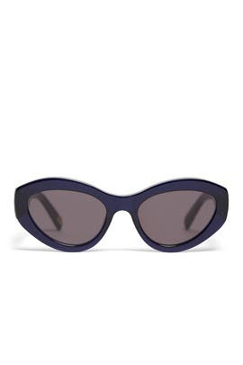 Dark Navy Elsa Sunglasses by CHiMi Eyewear