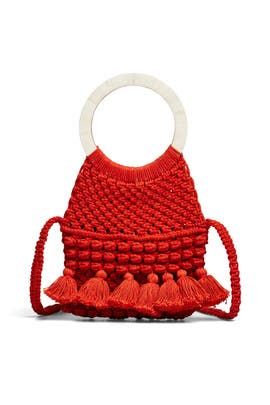 Monaco Woven Bag by Cleobella Handbags
