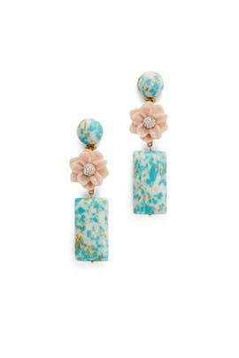 Gardenia Drop Earrings by Lele Sadoughi