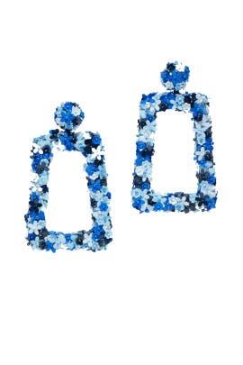 Fleur Dusk Drop Earrings by Sachin & Babi Accessories
