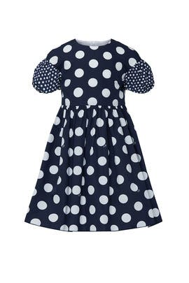 Kids Polka Dot Dress by Il Gufo Kids