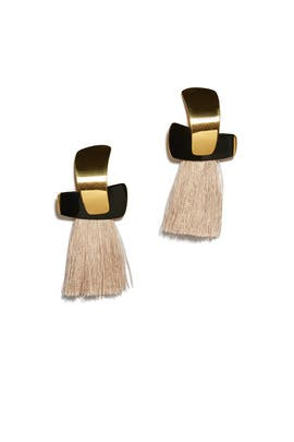 Totem Tassel Earrings by Lizzie Fortunato