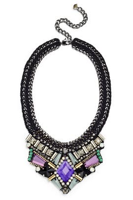 Azia Purple Necklace by Nocturne