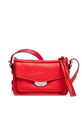 72585594687 Red Small Field Messenger Bag by rag & bone Accessories for $75 | Rent the  Runway
