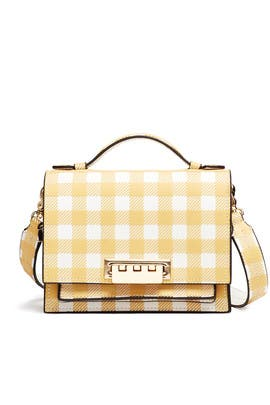 Earthette Accordian Mini Crossbody by ZAC Zac Posen Handbags
