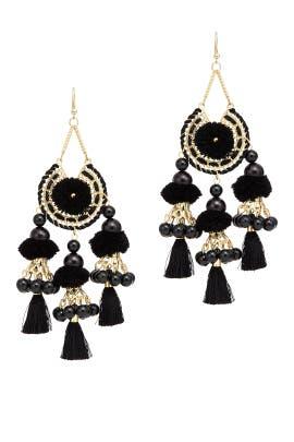 Reena Tassel Earrings by Area Stars