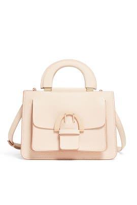 Oat Biba Buckle Small Shopper by ZAC Zac Posen Handbags