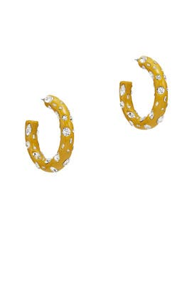 Kelly Hoop Earrings by Dannijo