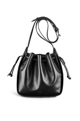 Courtney Black Small Bag by A.P.C Accessories