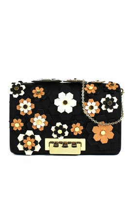 Hex Floral Earthette Crossbody by ZAC Zac Posen Handbags