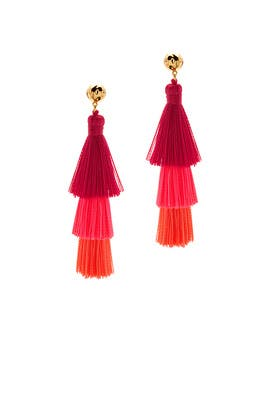 Havana Tassel Earrings by Gorjana Accessories