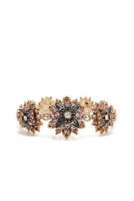 Floral Fantasy Bracelet by Marchesa Jewelry