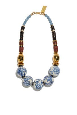 The New Blue Necklace III by Lizzie Fortunato