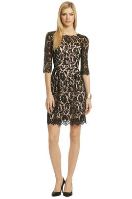 Sara Lace Shift by Milly