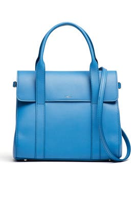 Blue Stone Small Satchel by Shinola
