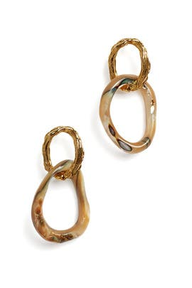 Loto Earrings by Lizzie Fortunato