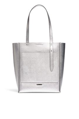 Silver Stella Tote by Rebecca Minkoff Accessories