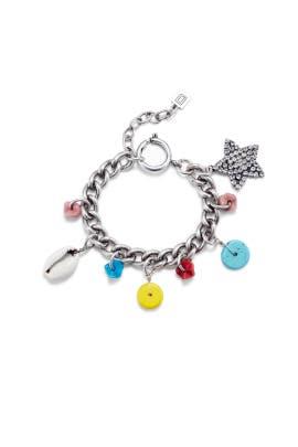 Hanky Charm Bracelet by Dannijo