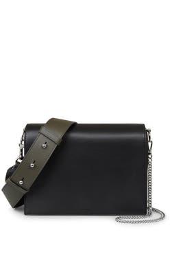 Black Zep Box Bag by AllSaints