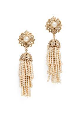 Stargazer Tassel Earrings by Marchesa Jewelry