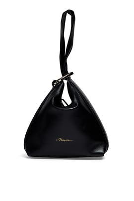Black Ines Soft Triangle Pouch by 3.1 Phillip Lim Accessories