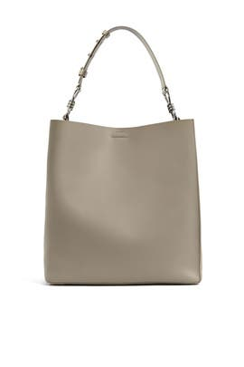 Dune Captain Leather NS Tote by AllSaints