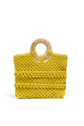 Lemon Reed Tote by Cleobella Handbags