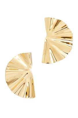 Bidu Fanned Earrings by Soko