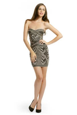 6b08c407b508 Hervé Léger. Read Reviews. Tribal Bandage Dress