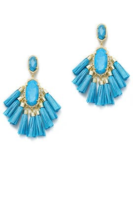 Aqua Kristen Earrings by Kendra Scott