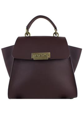 Raisin Eartha Iconic Bag  by ZAC Zac Posen Handbags