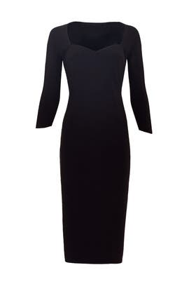 Black Serenity Sheath by La Petite Robe di Chiara Boni