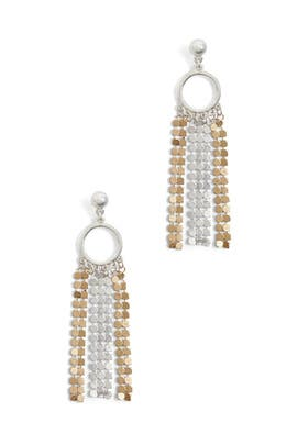 Chain Bling Earrings by Area Stars