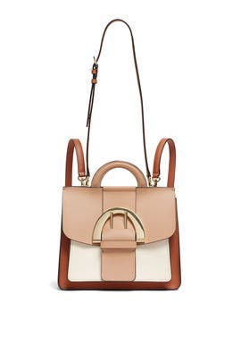 Latte Biba Buckle Backpack by ZAC Zac Posen Handbags