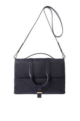 Navy Hanne Messenger Bag by Jason Wu Accessories