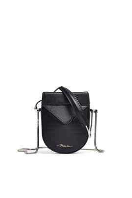 Black Soleli Mini Case Bag by 3.1 Phillip Lim Accessories