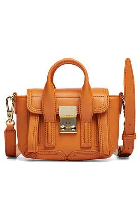 Brown Pashli Nano Satchel by 3.1 Phillip Lim Accessories