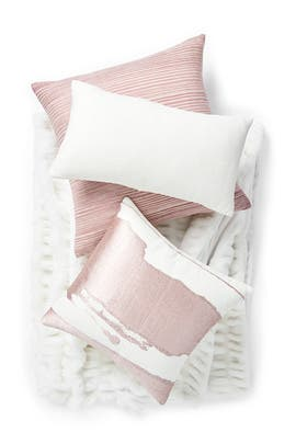 Silk Striations Pillow Bundle by West Elm