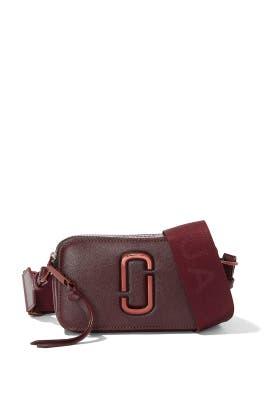 The Wine Snapshot Crossbody by Marc Jacobs Handbags