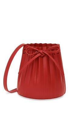 Mini Pleated Bucket Bag by Mansur Gavriel Accessories