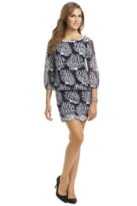 d38a115e98c6 Seaside Coral Print Dress by Lilly Pulitzer for $40 | Rent the Runway