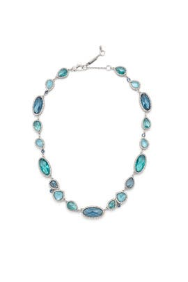 Blue Skies Stone Necklace by Jenny Packham
