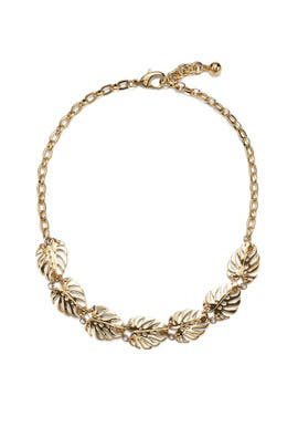 Gold Botanica Midi Necklace by Lulu Frost
