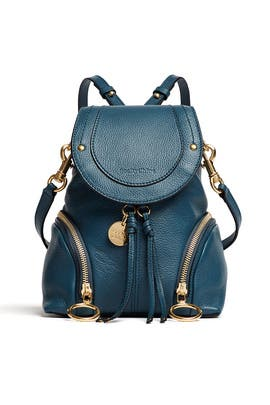 Blue Olga Backpack by See by Chloe Accessories
