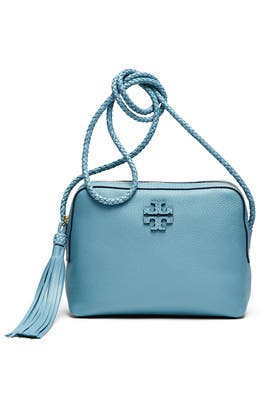 Blue Taylor Camera Bag by Tory Burch Accessories