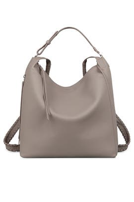 Taupe Grey Kita Backpack by AllSaints