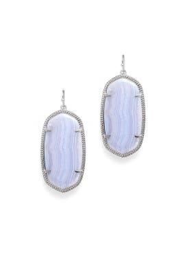 Lace Agate Danielle Earrings by Kendra Scott